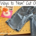 3 ways to hem cut offs