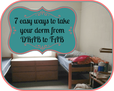 7 Easy Ways to decorate your dorm room on a budget