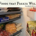 A List of Foods that Freeze Well