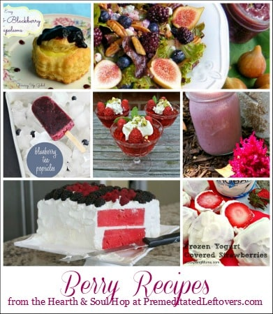 Berry Recipes form the Hearth and Soul Hop