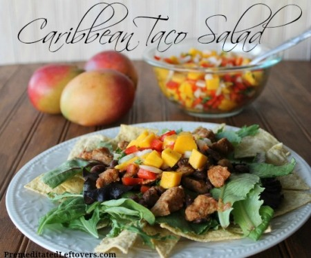 Caribbean Taco Salad Recipe