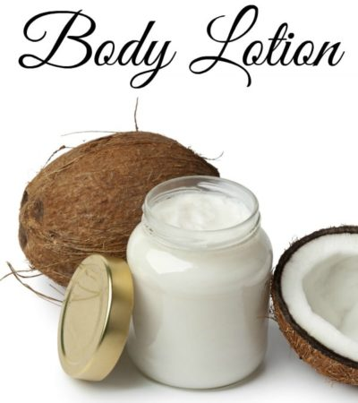 How to Make Body Lotion
