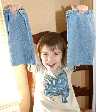What to do with leftover denim
