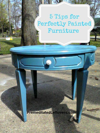 5 Tips for Perfectly Painted Furniture