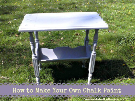How to Make Your Own Chalk Paint