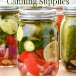 How to Save on Canning Supplies