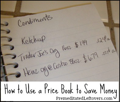 How to save money with a price book