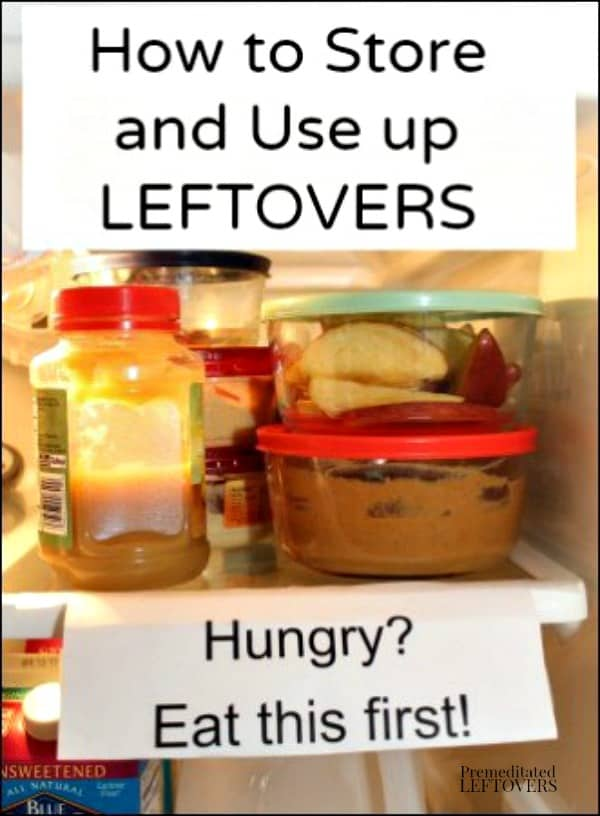 How to store and use up leftovers - tips to prevent food waste