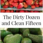 The Dirty Dozen and Clean Fifteen are buying guides of produce that have the highest levels of pesticides and the lowest levels of contamination.