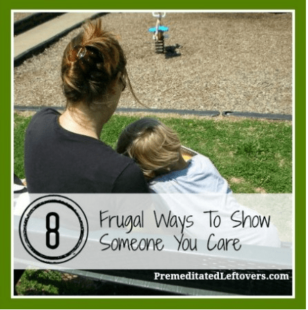 how to show you care for someone