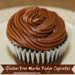 Gluten-Free Mocha Fudge Cupcake Recipe