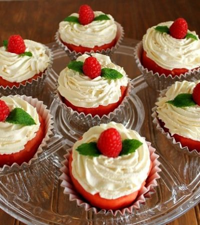 how to make watermelon cupcakes from real watermelon