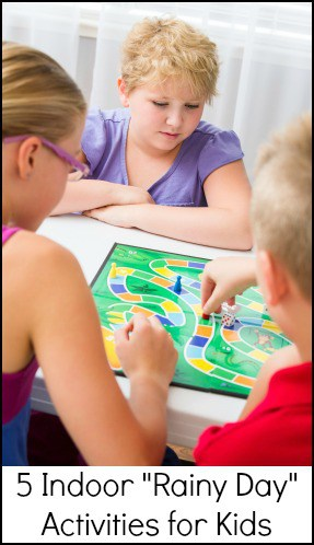 5 Indoor Activities for kids - ways to keep them occupied without electonics