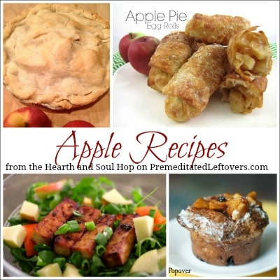 Apple Recipes from the Hearth and Soul Hop