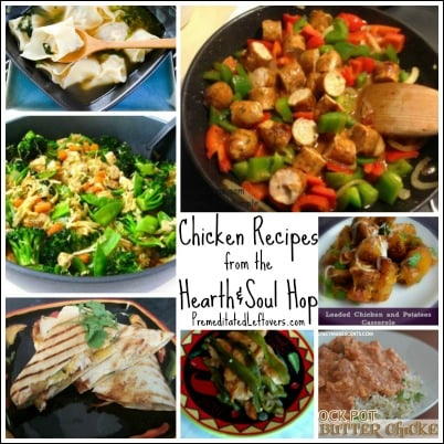 Chicken Recipes from the Hearth and Soul Hop