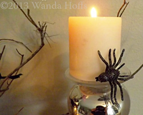 Decorations for halloween Party - spooky spiders