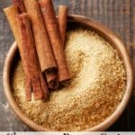 How to make Cinnamon Brown Sugar Body Scrub Recipe