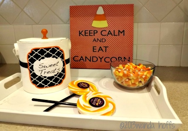 Decorating for Fall with Candy Corn: A DIY Candy Corn Sign