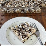 gluten-free cookies and cream rice krispy bars