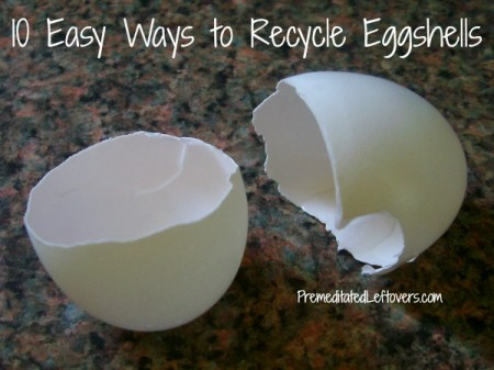 10 Easy Ways to Recycle Eggshells