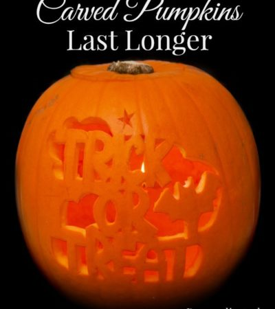 7 Tips for Making Carved Pumpkins Last Longer