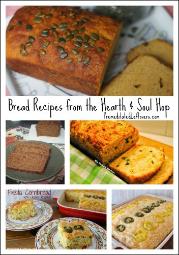 Bread Recipes from the Hearth and Soul Hop