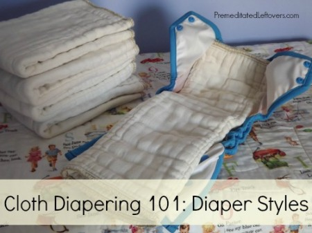 Cloth Diapers - Types, Styles, and Terms