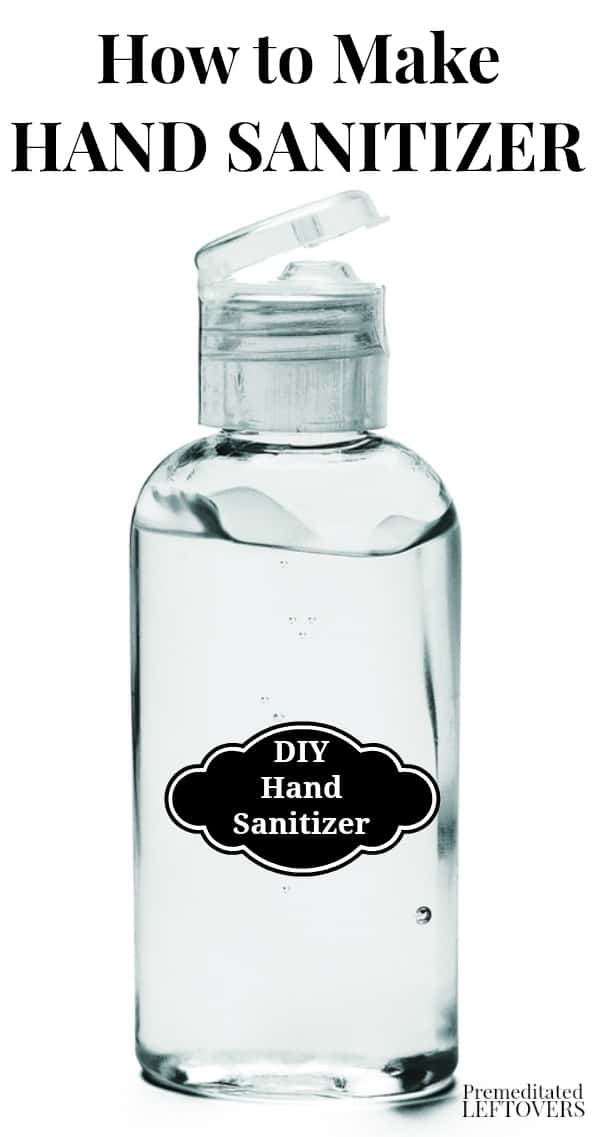Make a gentler hand sanitizer by using aloe vera gel as the base for your homemade hand sanitizer. Use 99% isopropyl alcohol so your gel is 60% alcohol.
