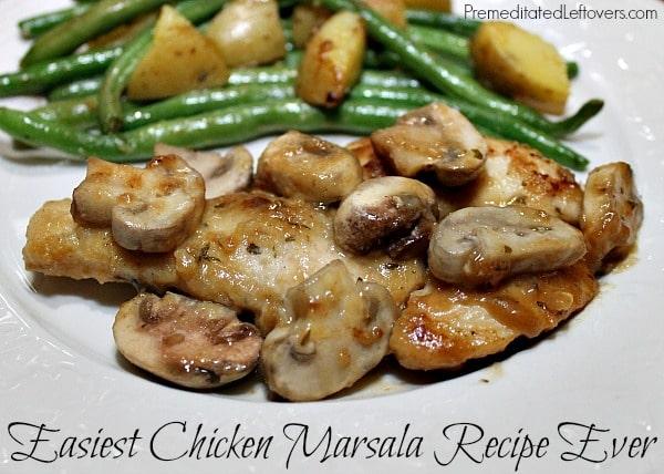 Easiest Chicken Marsala Recipe Ever!