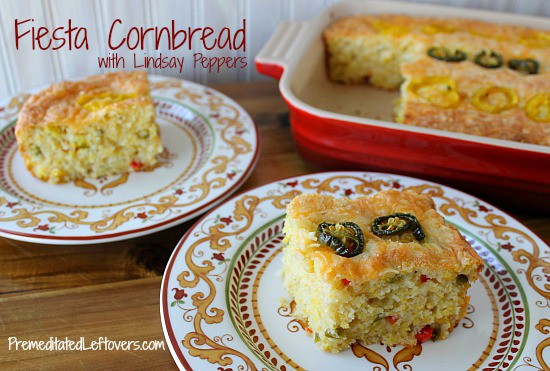 Fiesta Cornbread Recipe with Lindsay Peppers #FreshFinds from Save Mart
