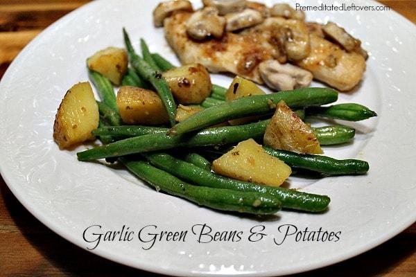 Garlic Green Beans and Potatoes