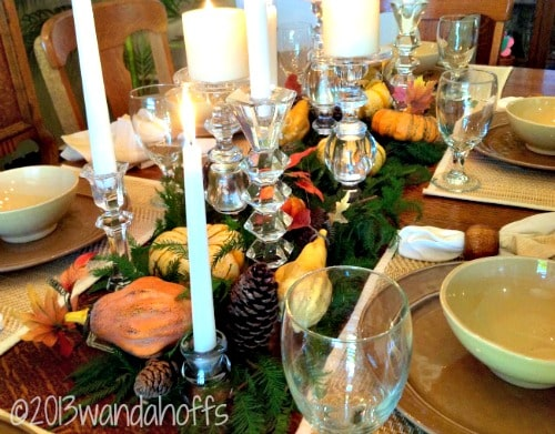 How to create a frugal, yet elegantThanksgiving tablescape