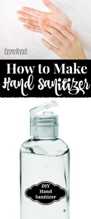 how to make homemade hand sanitizer with rubbing alcohol and aloe vera gel