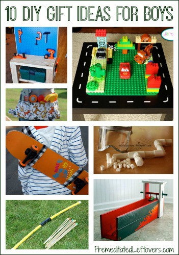 10 diy christmas gift ideas for boys for Easy diy gifts for boys