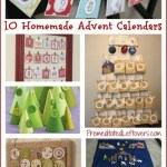 10 Homemade Advent Calendar Ideas