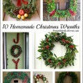 10 Homemade Christmas Wreath Ideas