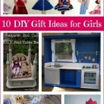 10 DIY Christmas Gift Ideas for Girls- These homemade gift tutorials will give you plenty of great ideas when it comes to the girls on your Christmas list.