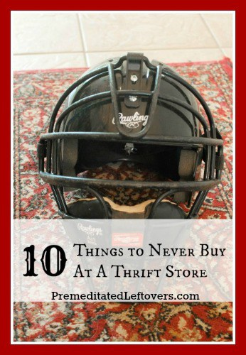 Thrift stores are a great way to save money, but there are some things you should not buy there. Here are 10 Things You Should Not Buy At Thrift Stores.