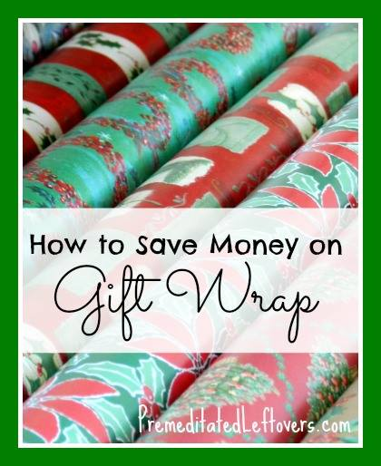 How To Save Money on Gift Wrap: Tips for saving on gift wrap including where to find inexpensive wrapping options & frugal substitutions for wrapping paper.