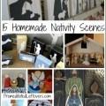 15 Homemade Nativity Scenes and Activities