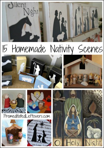 15 Homemade Nativity Scenes And Activities