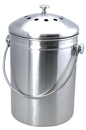 Gifts for Gardeners - Stainless Steel Compost Pail