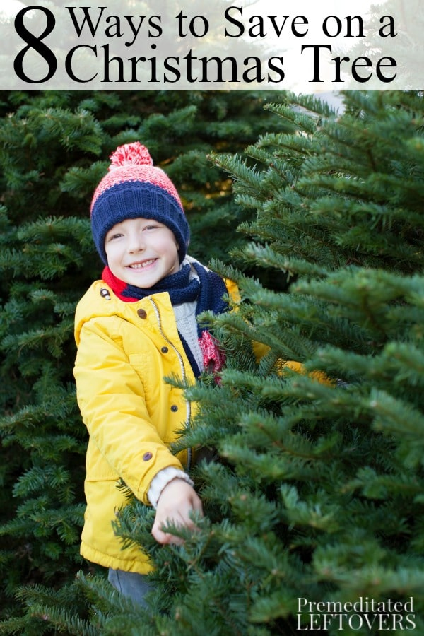 Ways to Save Money on a Christmas Tree- Whether you buy a fresh pine tree or an artificial Christmas tree, use these tips to save money this holiday season.