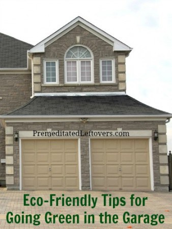 Eco-friendly tips for going green in the garage
