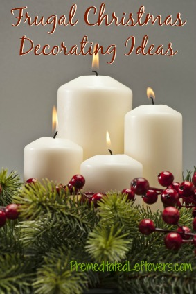 frugal christmas decorating ideas