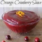 Homemade Orange-Cranberry Sauce