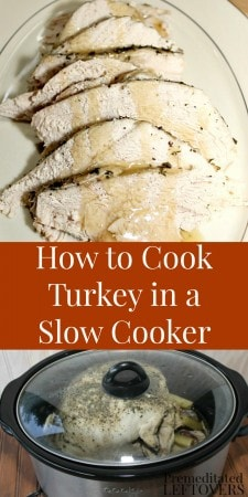 How to Cook Turkey in a Slow Cooker