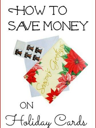 How to Save Money on Christmas Cards- The cost of sending holiday cards can quickly add up. Save money on Christmas cards this year with these frugal tips.