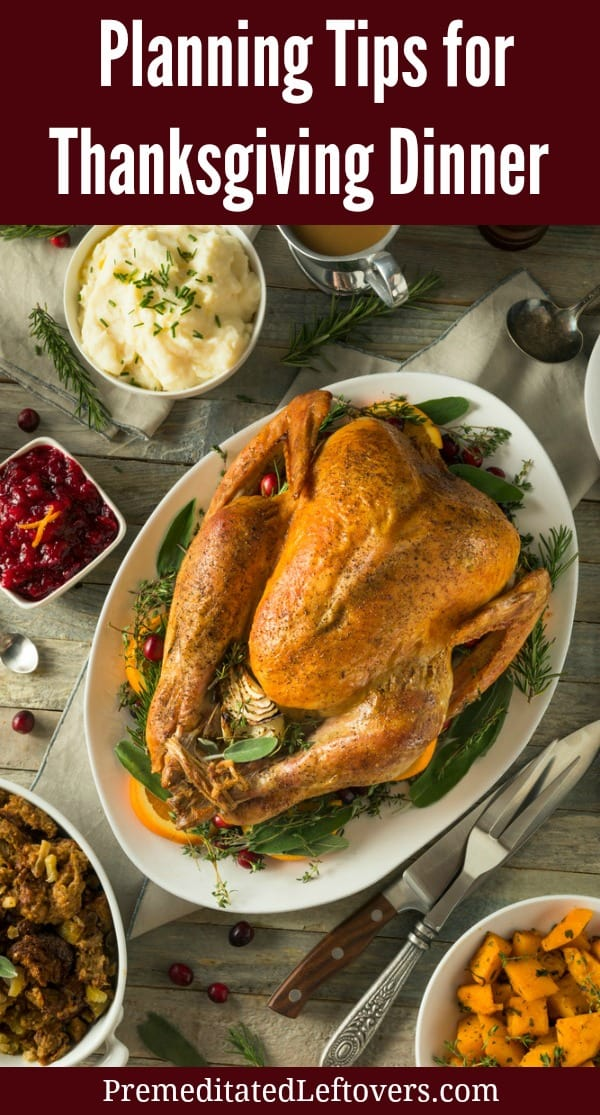 Organization and Planning Tips for a Stress-Free Thanksgiving Dinner. Use these planning tips for Thanksgiving dinner so you can start organizing, cleaning, and preparing in advance and enjoy a stress-free Thanksgiving feast.
