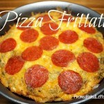 Pizza Frittata Recipe - fast and easy kid friendly dinner